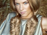 10 Cool Ideas To Do Fishtail Hairstyle 1