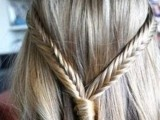 10 Cool Ideas To Do Fishtail Hairstyle 10