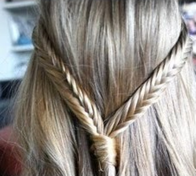 Picture Of Cool Ideas To Do Fishtail Hairstyle 10