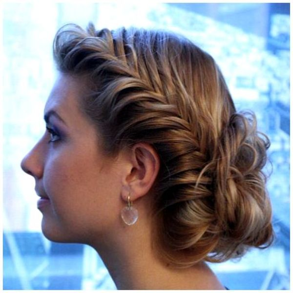 Picture Of Cool Ideas To Do Fishtail Hairstyle 3