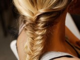10 Cool Ideas To Do Fishtail Hairstyle 4