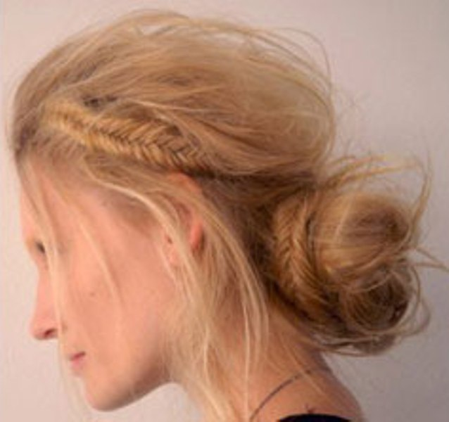 Picture Of Cool Ideas To Do Fishtail Hairstyle 5