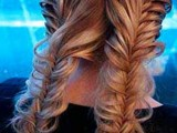 10 Cool Ideas To Do Fishtail Hairstyle 6