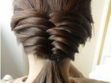 10 Cool Ideas To Do Fishtail Hairstyle 9
