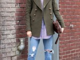 10 Cool Looks With Trendy Burgundy Boots4