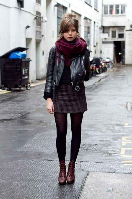Cool Looks With Trendy Marsala Boots