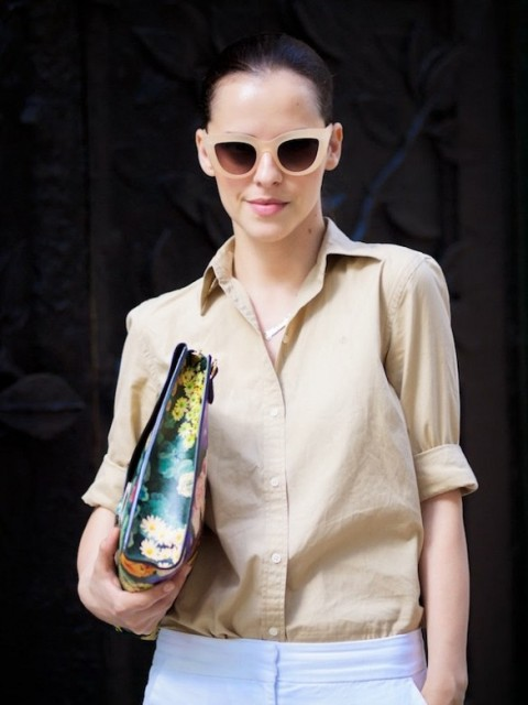 10 Looks With Cat-Eye Sunglasses For This Spring