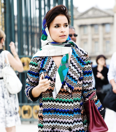 10 Original Ways To Wear A Scarf