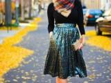 10 Original Ways To Wear A Scarf10