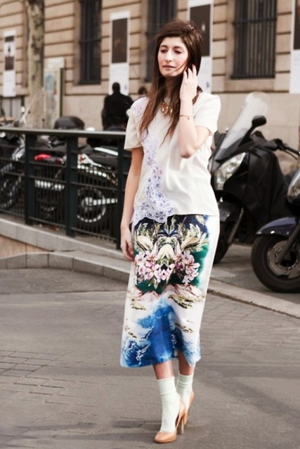 Picture Of Summer Outfits With Tropical Prints 5