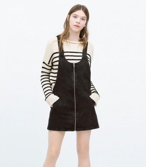 Picture Of Trendy Pinafore Denim Dresses This Season 8