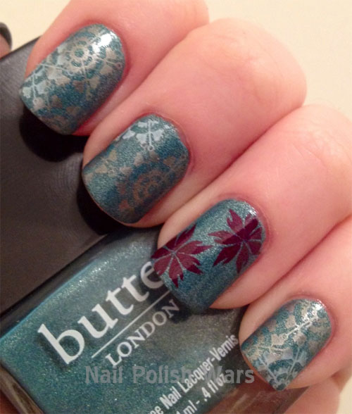 Autumn Inspired Nails 2 (via girlshue)