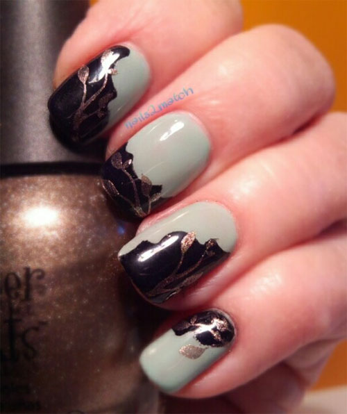 10 Autumn Inspired Nails Designs 2013/2014