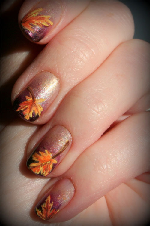 Autumn Inspired Nails 3 (via girlshue)