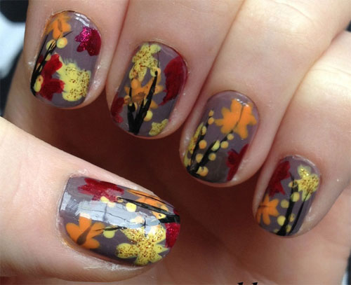 Autumn Inspired Nails 4 (via girlshue)