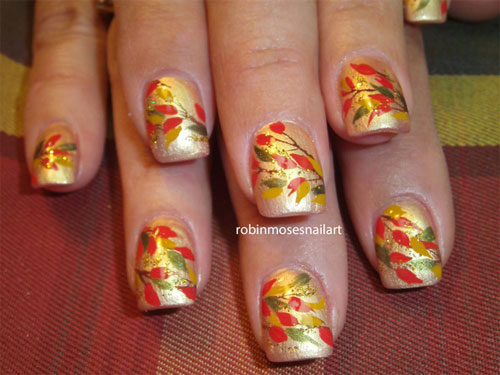 Autumn Inspired Nails 7 (via girlshue)