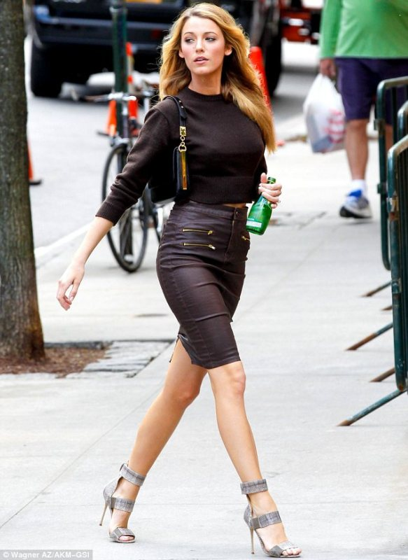 Picture Of best everyday looks of blake lively  7