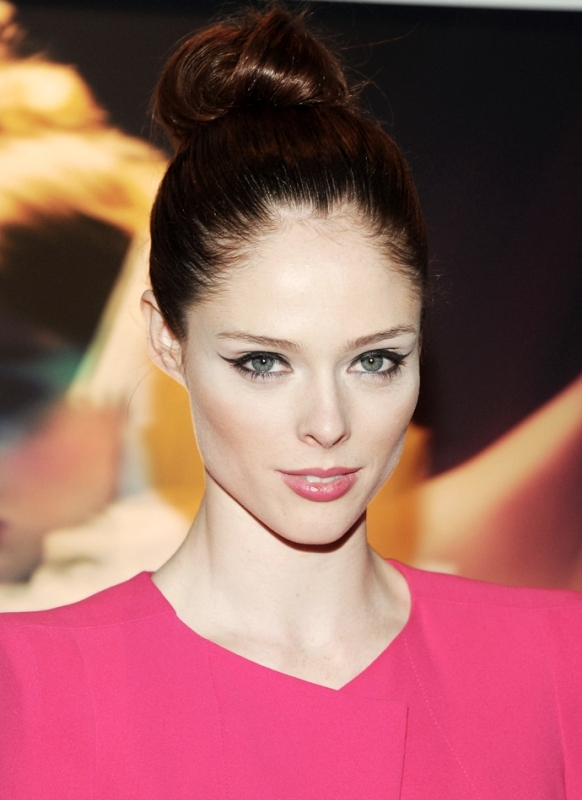 Picture Of best hair and makeup looks of coco rocha  1