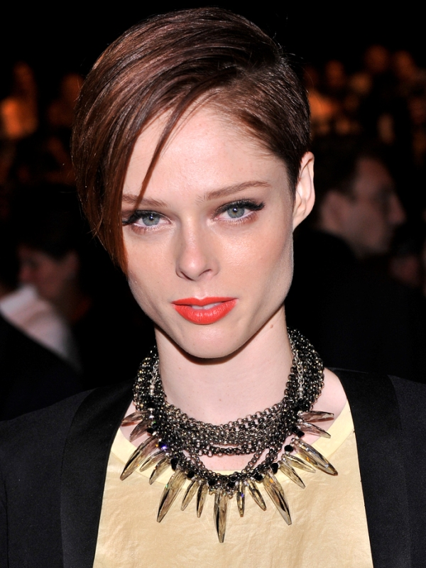 Picture Of best hair and makeup looks of coco rocha  2