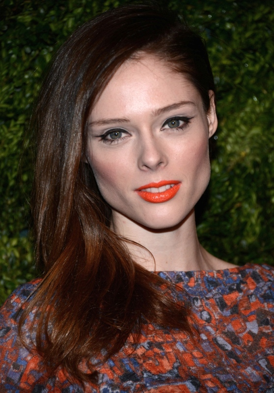 Picture Of best hair and makeup looks of coco rocha  4