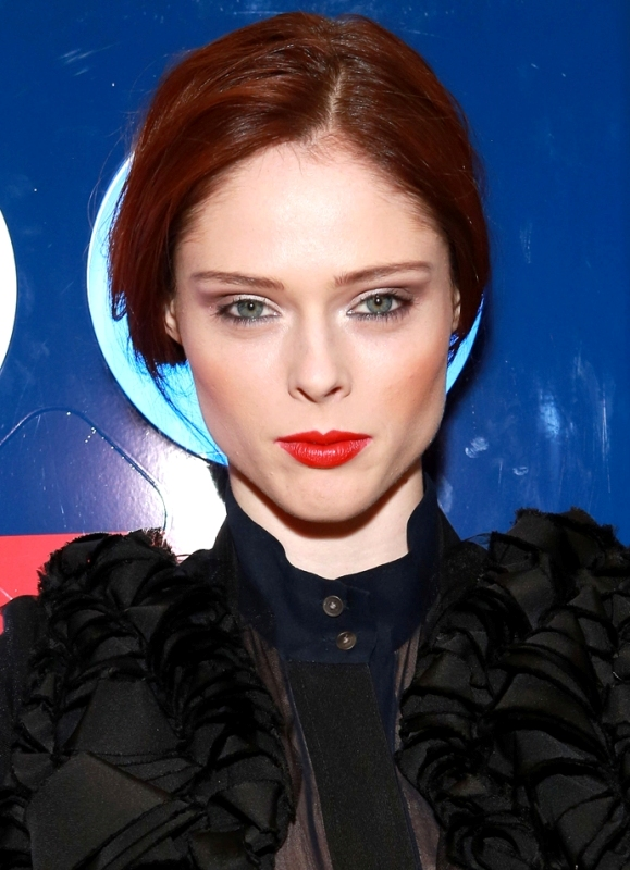 Picture Of best hair and makeup looks of coco rocha  9