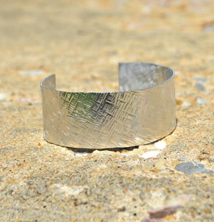 Picture Of minutes texture stamped cuff  5