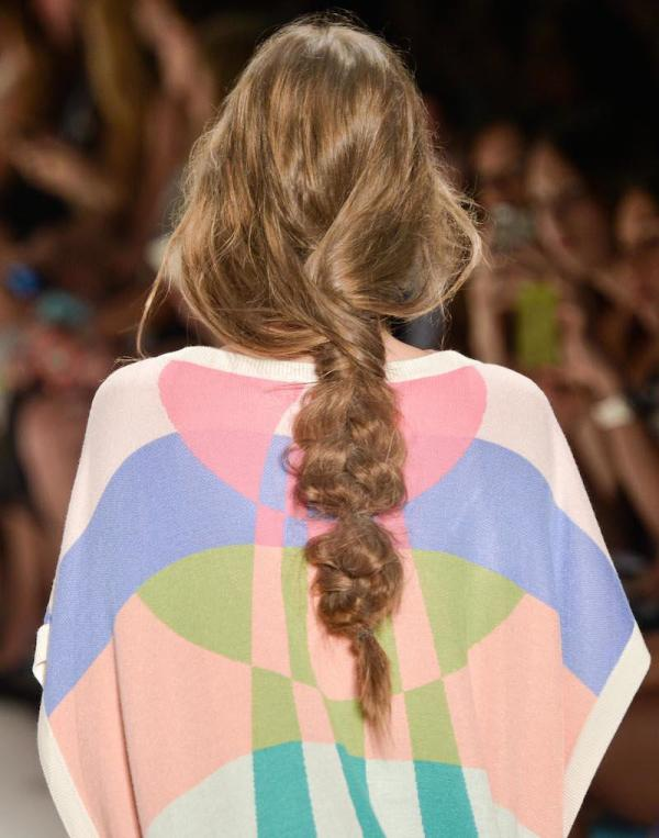 Picture Of not so ordinary and trendy braids from 2015 fashion weeks  4