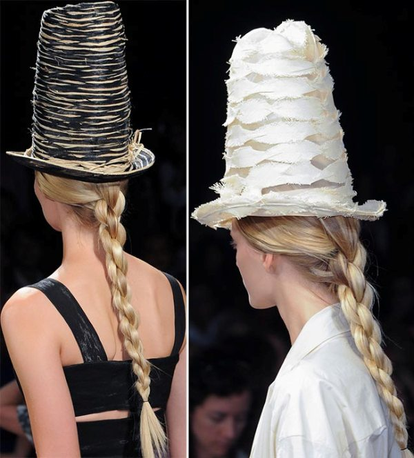 Picture Of not so ordinary and trendy braids from 2015 fashion weeks  7