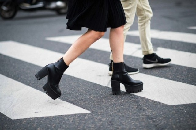 Picture Of Stylish Ways To Wear Platform Boots 10