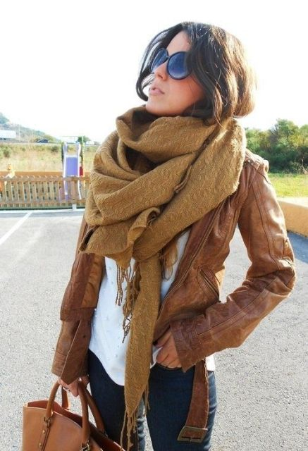 Super Trendy And Comfy Scarves For This Fall