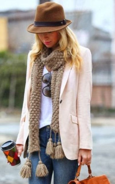Picture Of Trendy Scarves For This Fall 7