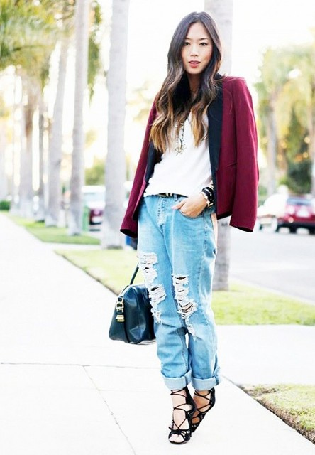 Ideas How To Dress Up Your Jeans For A Party