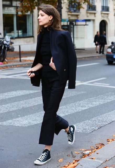 Picture Of Mainstream Work Outfits With Sneakers 10