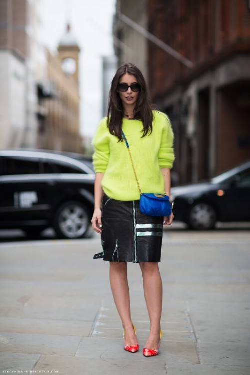 Awesome Ways To Wear Neon Everyday