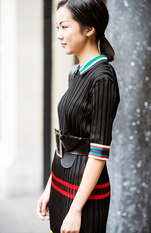 Picture Of chic and stylish ways to wear an oversized belt  13
