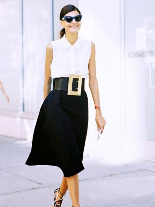 13 Chic And Stylish Ways To Wear An Oversized Belt