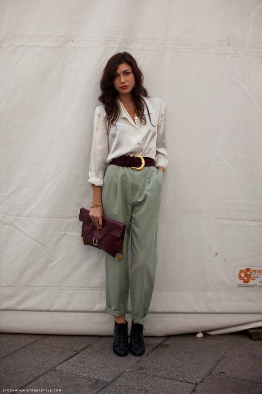 Picture Of chic and stylish ways to wear an oversized belt  8