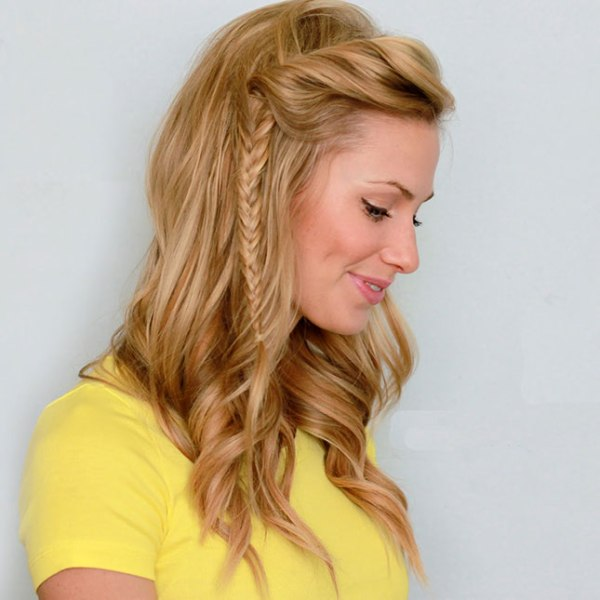 Picture Of cool ways to style bangs in summer heat  9