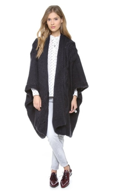 Picture Of cozy and chic looks with long cardigan to inspire  11