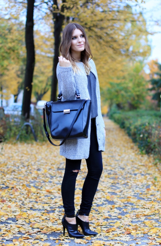 Picture Of cozy and chic looks with long cardigan to inspire  12