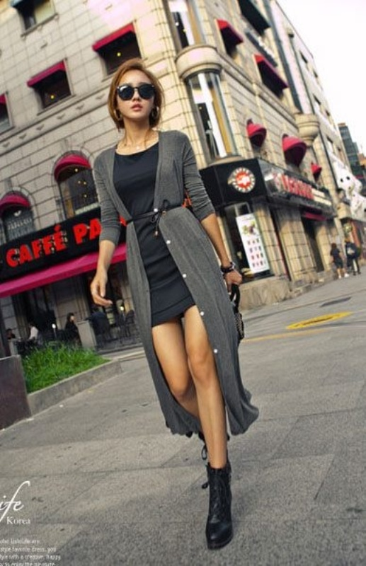 Picture Of cozy and chic looks with long cardigan to inspire  13