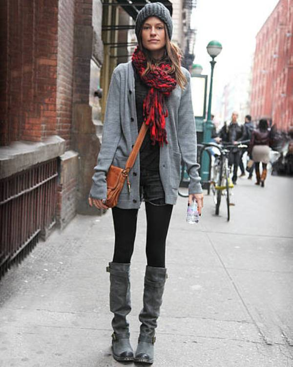 Picture Of cozy and chic looks with long cardigan to inspire  4