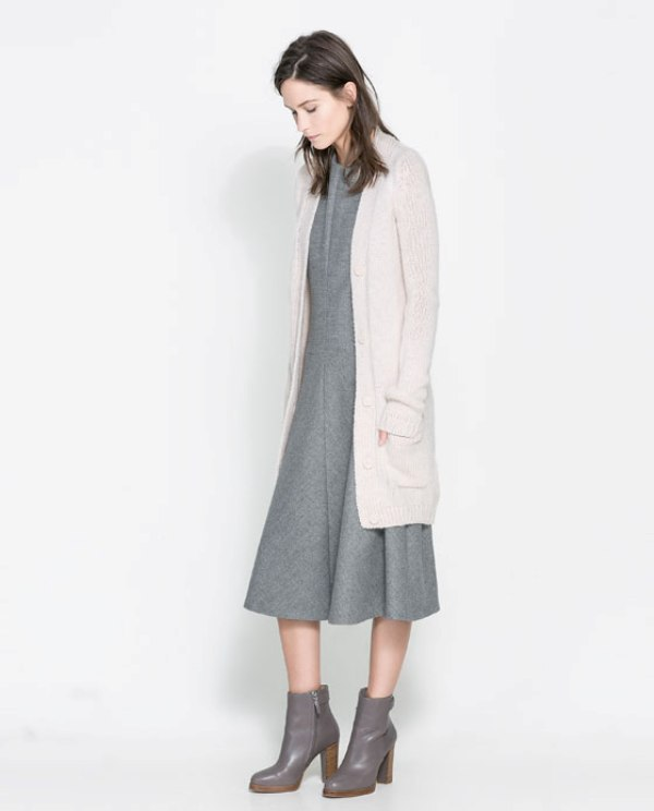 Picture Of cozy and chic looks with long cardigan to inspire  5