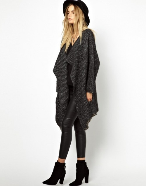 Comfy And Chic Looks With A Long Cardigan To Get Inspired