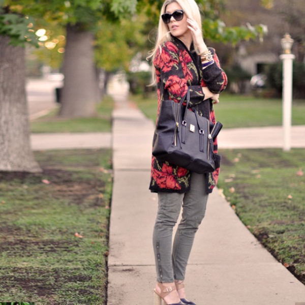 Picture Of cozy and chic looks with long cardigan to inspire  8