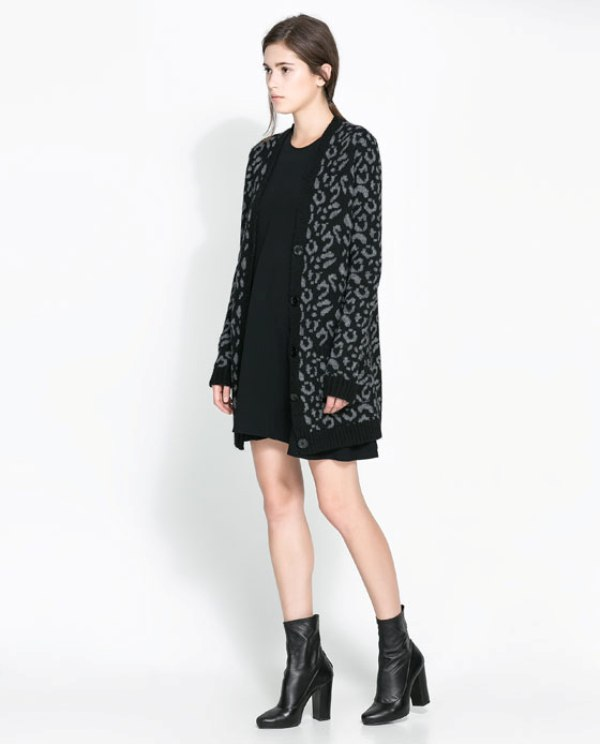 Picture Of cozy and chic looks with long cardigan to inspire  9