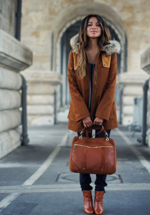 13 Creative And Stylish Ways To Wear A Parka Right Now