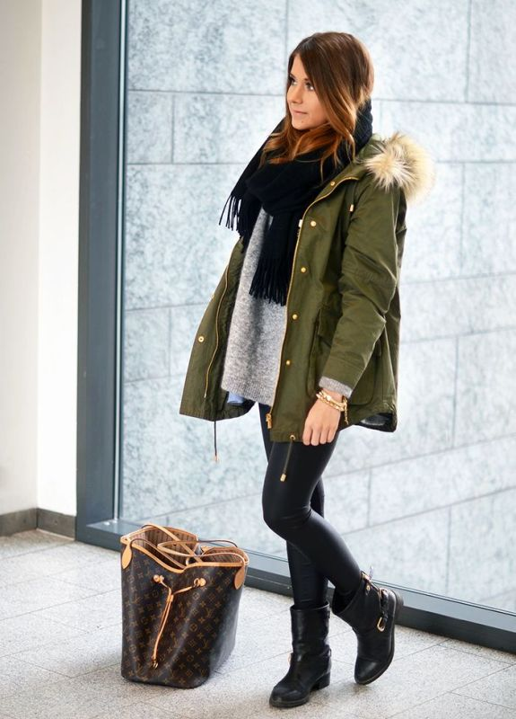 Picture Of creative and stylish ways to wear parka right now  11