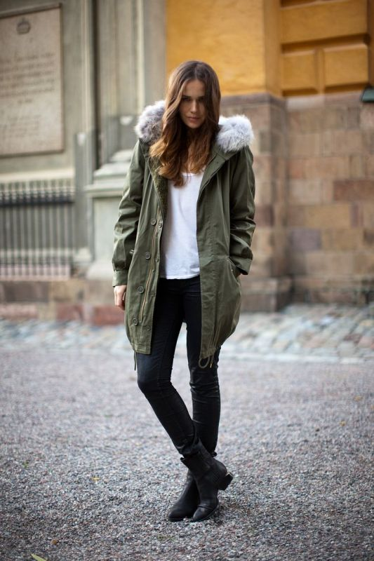 Picture Of creative and stylish ways to wear parka right now  12