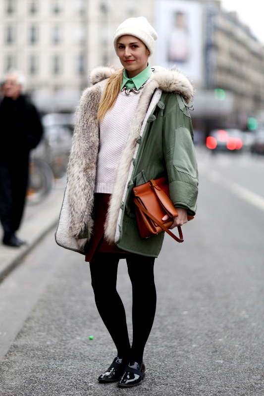 Picture Of creative and stylish ways to wear parka right now  2
